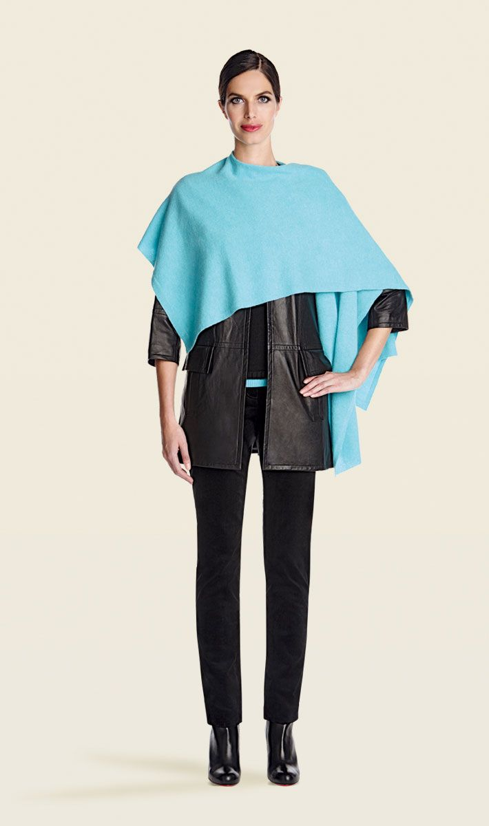 Alpine blue shawl | Carlisle Collection | Per Se | Collections | Lookbook | Per Se | Holiday 2013 | 5