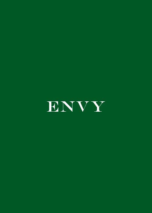 green.quenalbertini: Green Envy