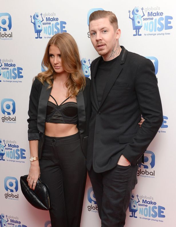 Millie Mackintosh and Professor Green arrive at Global's 'Make Some Noise Night'