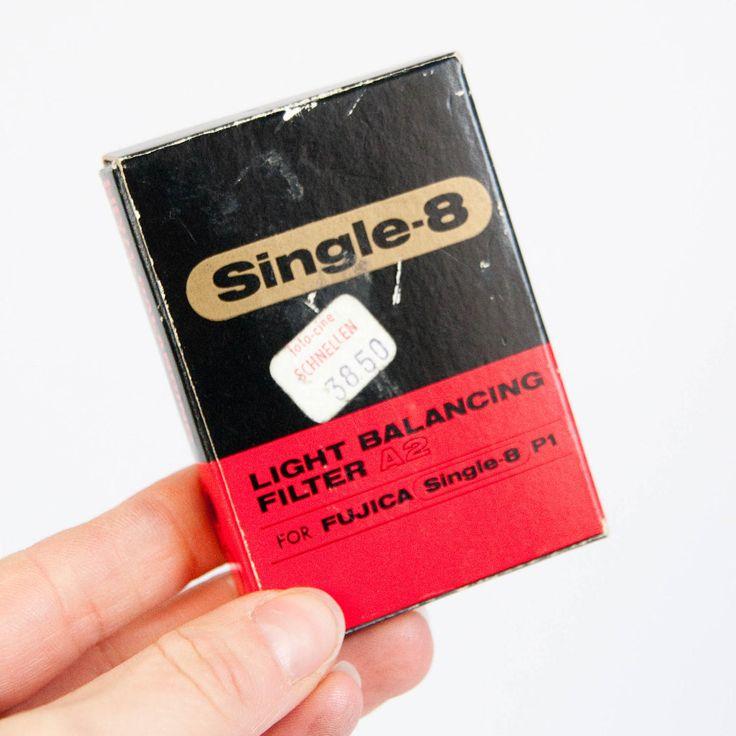 Vintage Fujica Single 8 filter A2, light balancing filter, single8, retro film filter, new old stock by JoorVintageTreasures on Etsy