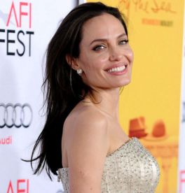 Angelina Jolie just got 3 new tattoos - and they're pretty hard to miss: