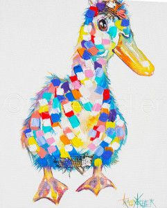 Don Tracey Keller Duck Painting