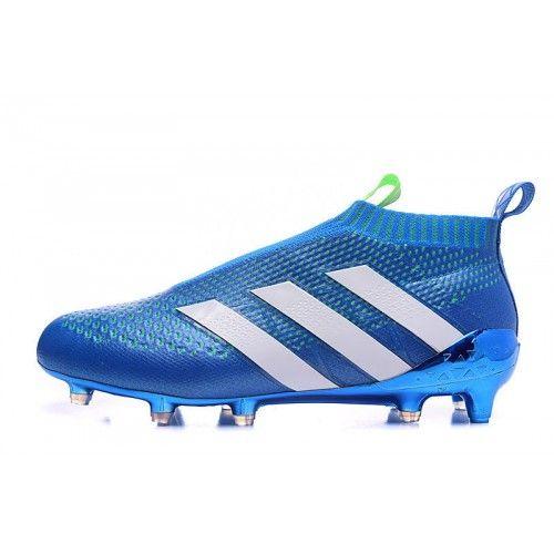 Adidas ACE - Dobrý Adidas ACE 16 Purecontrol FG-AG Modrý Kopačky