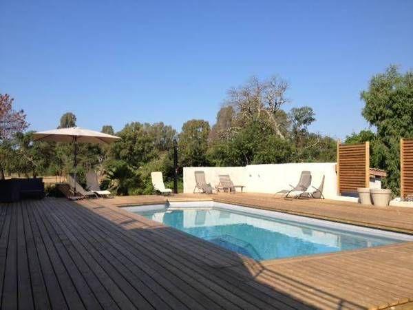 Location Maison Porto-Vecchio avec Piscine pour 6 personnes avec PAPVacances.fr