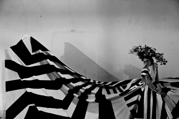 In Her Shoes: Razzle Dazzle  -- Dazzle Camo CUBISM AT WAR