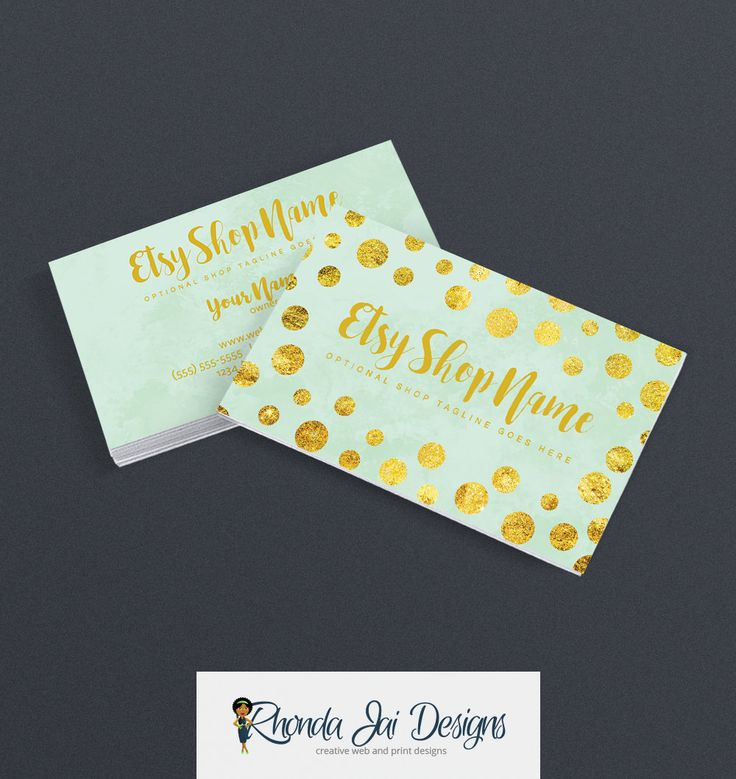 Brand new 57 best Etsy Business Cards images on Pinterest | Business card  AO71