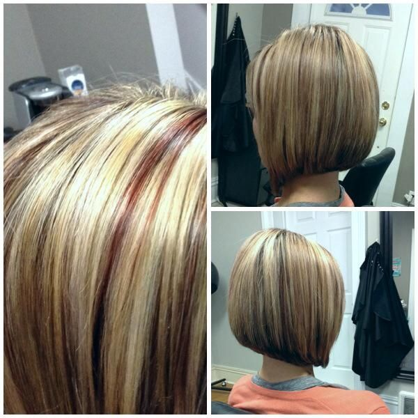 Sexual angled bob #hair Studio, Oshawa, Ontario