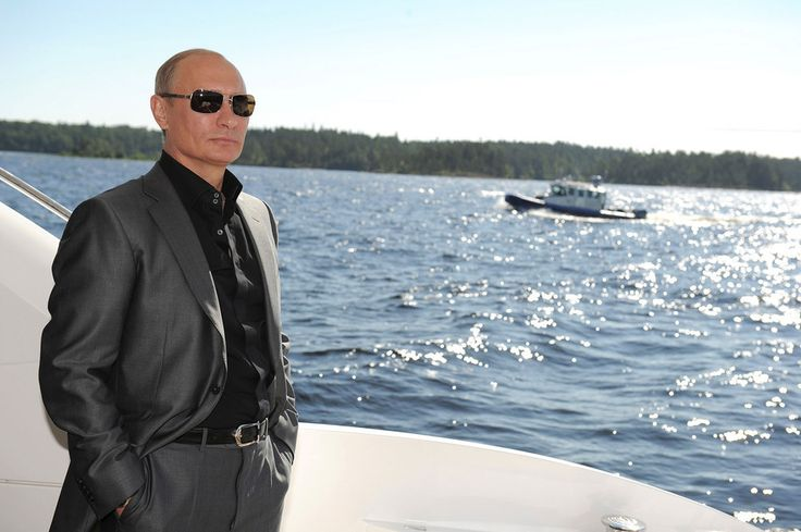 Vladimir Putin Looking At Things @ ShockBlast
