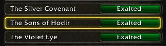 You finally no longer need to farm 999 rep after reaching Exalted status with any faction there is no numbers after you reach it #worldofwarcraft #blizzard #Hearthstone #wow #Warcraft #BlizzardCS #gaming