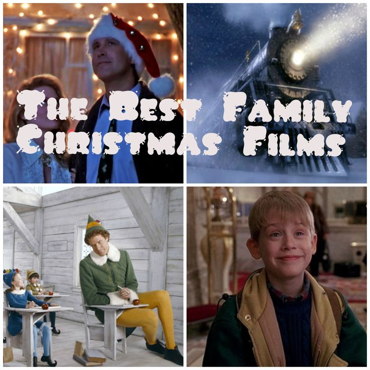 collage The Best Family Christmas Films
