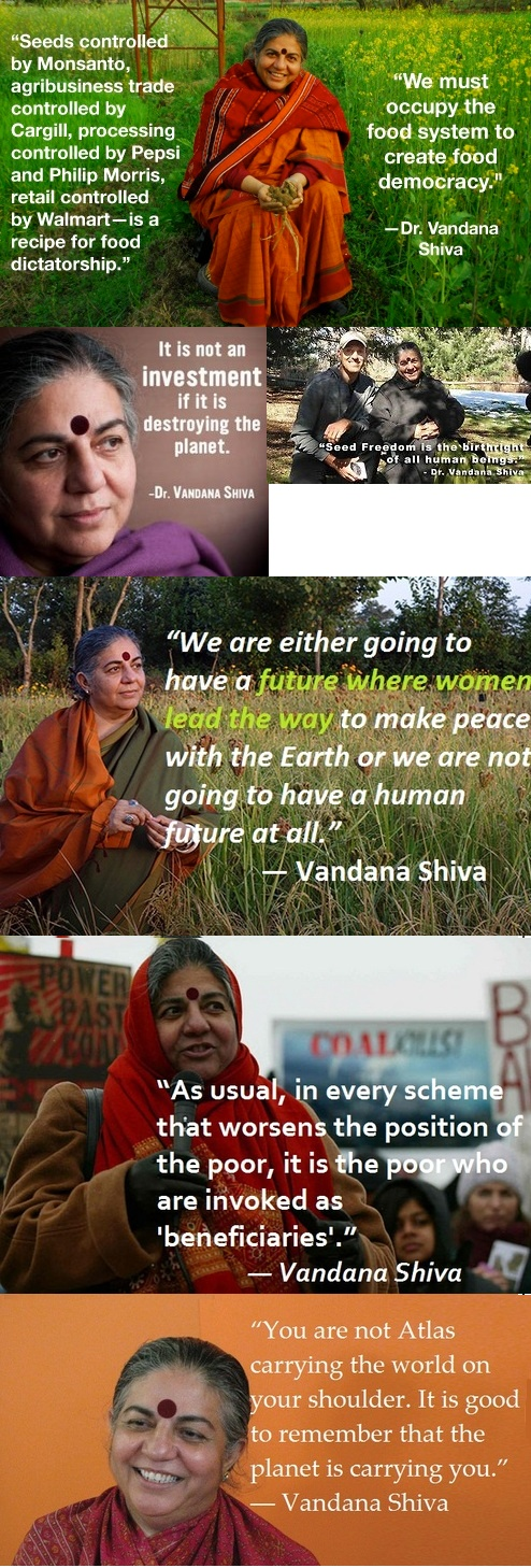 Dr. Vandana Shiva...from http://thepeoplesrecord.com/post/48526442056/today-we-honor-vandana-shiva-because-as-the