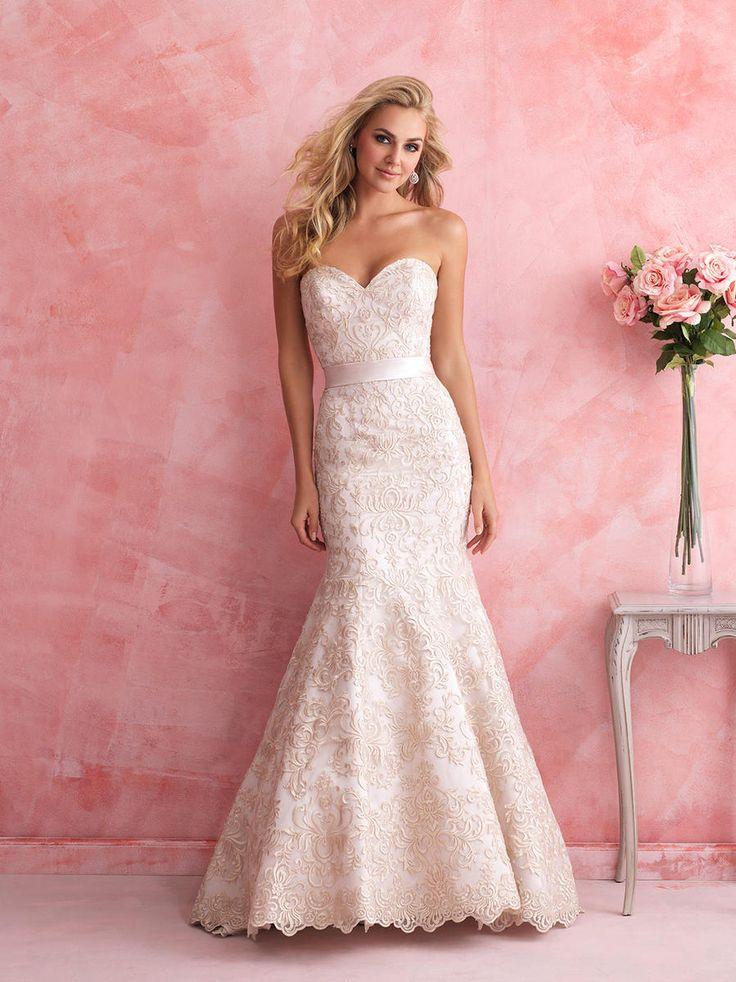 Mejores 417 imágenes de Wedding Gowns en Pinterest | Vestidos de ...
