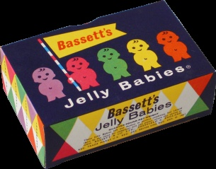 Jelly Babies! Gummy goodness. The weekly Friday night gift, with the 1/2 crown from my Aunty Hilda. My sister and I would hide them in the same place every time, and my mother would come and take them away every time