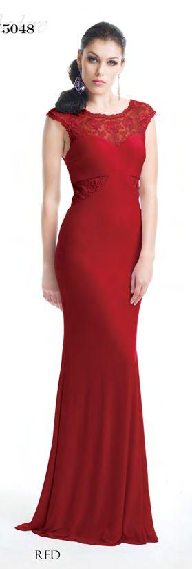 Elle gown - red  http://www.bellebridesmaid.com.au/product/elle/