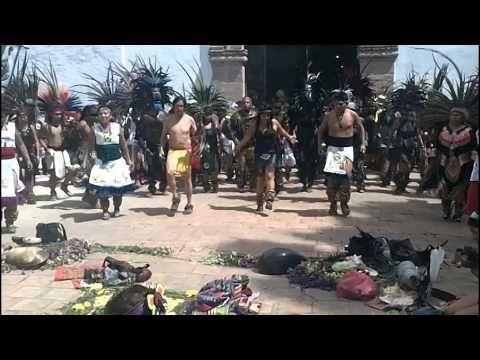 DANZA XOCHIPILLI- CALPULLI YAOXOCHITL (IXCATEOPAN DE CUAUHTEMOC) 2014