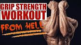 How To Get Strong HAND & GRIP STRENGTH - YouTube