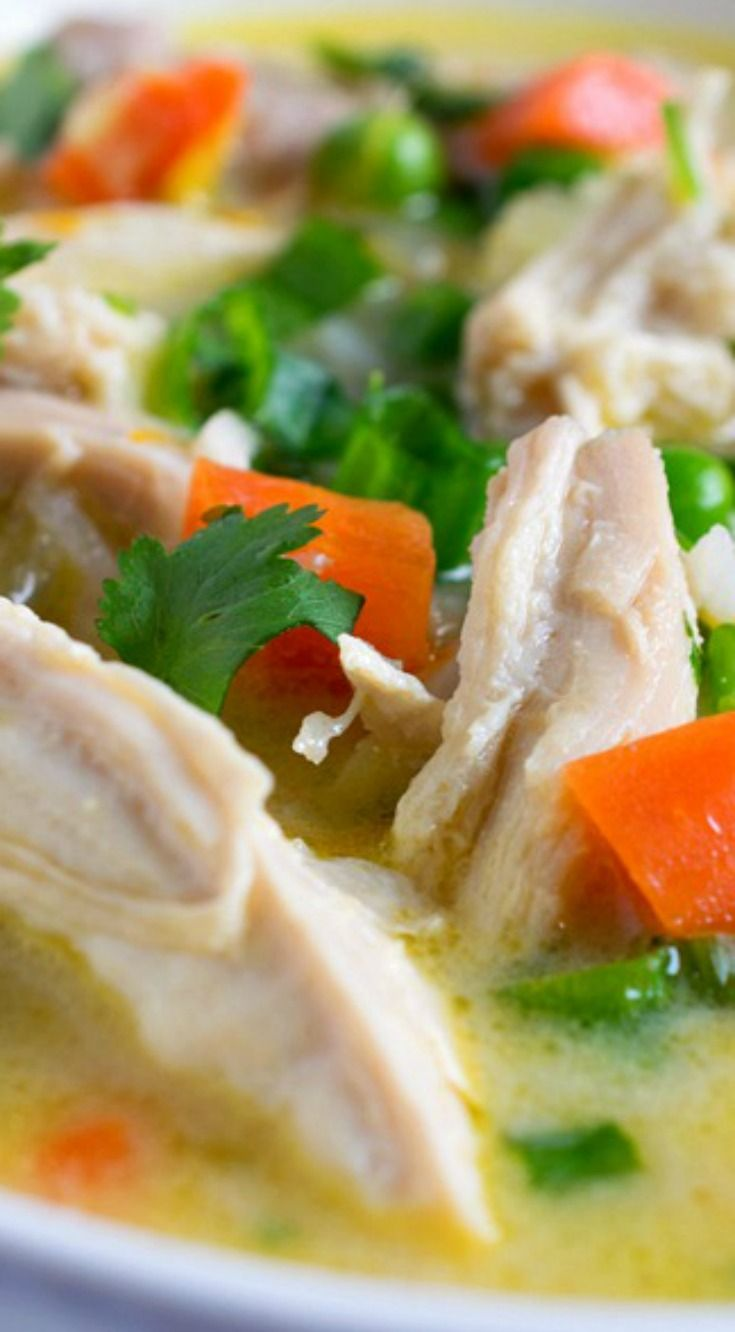 Citrus Chicken and Rice Soup ~ Easy and delicious... It is destined to become a new favorite!