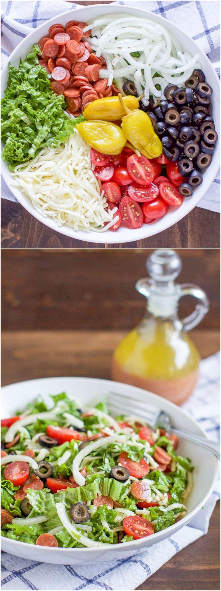 Slow Cooker: Italian Antipasto Salad