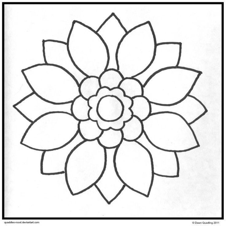 Best 25+ Easy mandala designs ideas on Pinterest