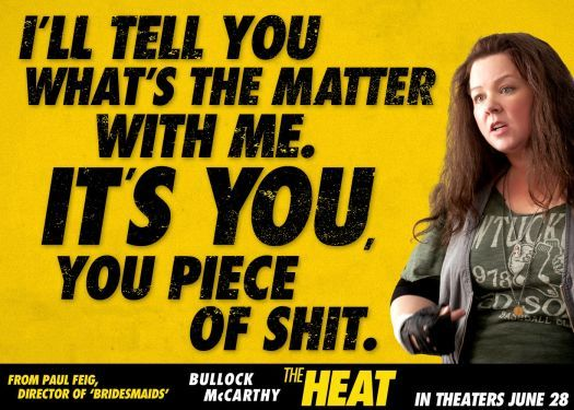 Melissa McCarthy heat | The Heat Release Date June 28, 2013 - The Heat Trailer