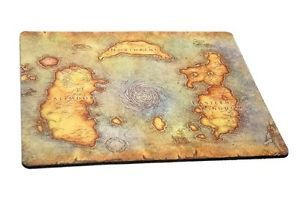 NEW-World-of-Warcraft-Gaming-Mouse-Pad-Atlas-Edition-M-FREE-SHIPPING