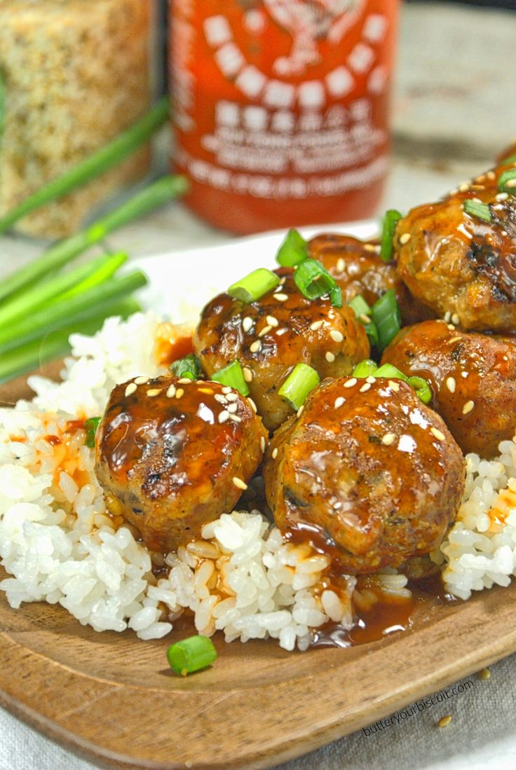 ... Cooker Honey Sriracha Chicken Meatballs Tender, juicy with the