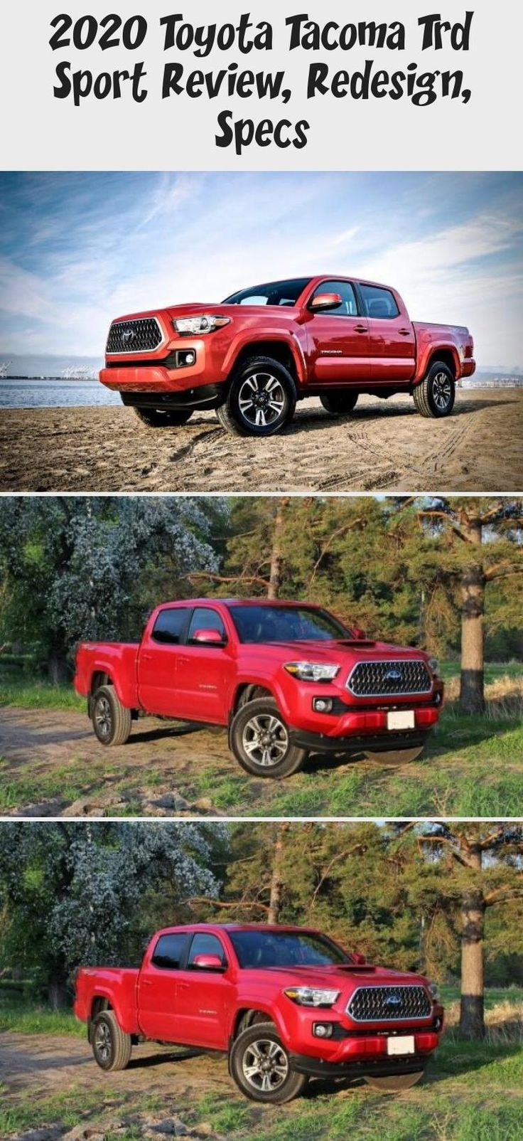 2020 Toyota Trd Sport Review, Redesign, Specs in
