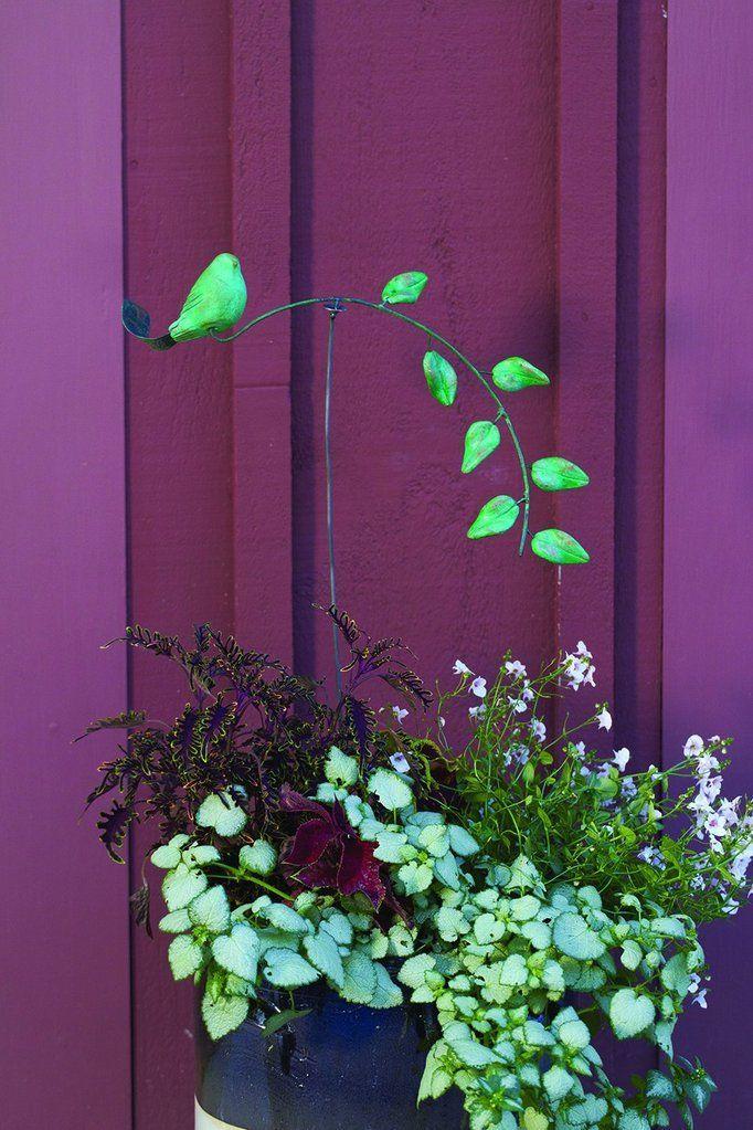 Teal Bird Garden Balancer Garden Stakes Pinterest Garden