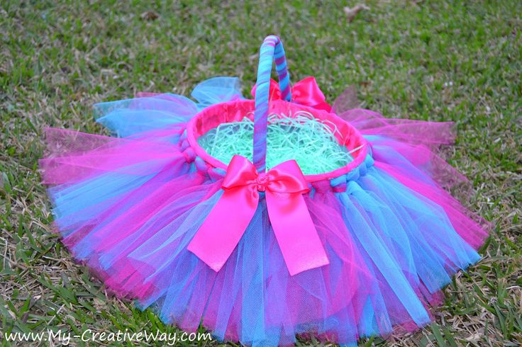 Rona Flower Baskets : Best images about everything s better in a tutu on