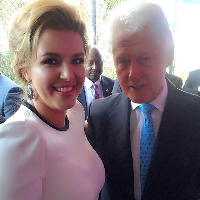 Alicia Machado ha sido muy activa políticamente desde que empezó la contienda electoral por la presidencia de Estados Unidos.