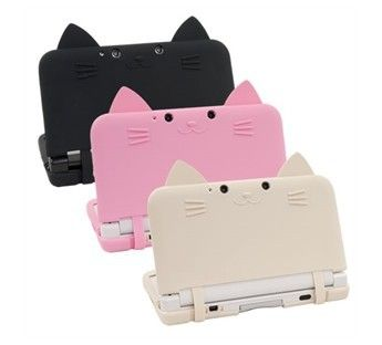 3DS XL Ear Cat Silicone Case US $16.00 Cute. X]