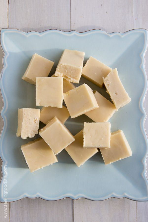 Perfect, old fashioned vanilla fudge just like the boardwalk!! | Feeling Foodish