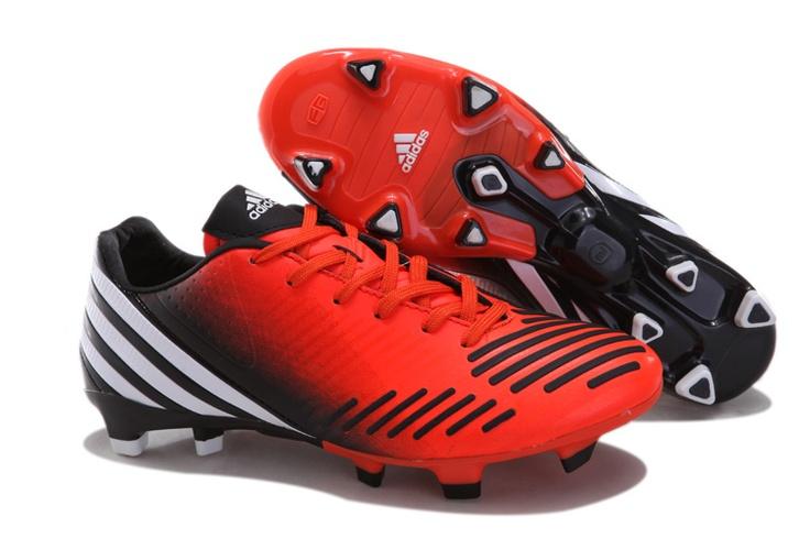 adidas Predator LZ TRX FG Rosso Nero Scarpe Calcio  http://www.mercurial-scarpe-calcio.com
