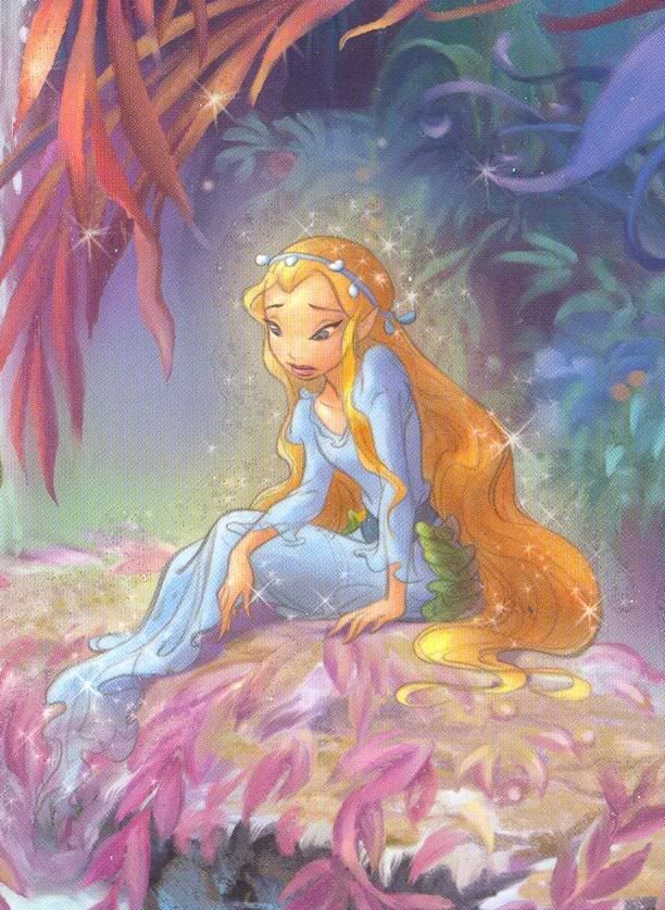 pictures of the faries of Pixie Hollow: Rani in the Mermaid Lagoon.  It's my favorite of the books!