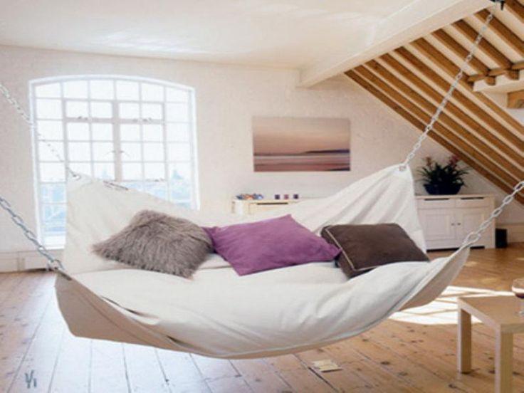 37 best indoor hammocks images on pinterest hammocks for Indoor hammock design
