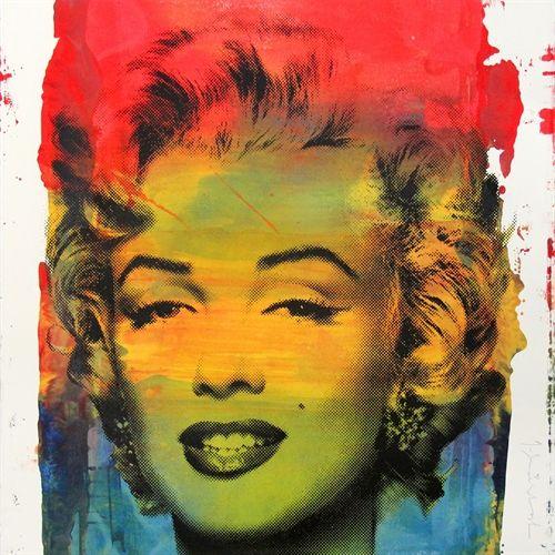 Marilyn Monroe by Mr. Brainwash on artnet Auctions