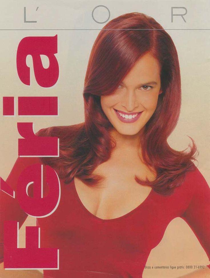 Minha cor. Meu jeito. Novo Féria Clareiae dá cor aos cabelos castanhos e escuros Produto: Féria Anunciante: L'oréal Veículo: Nova