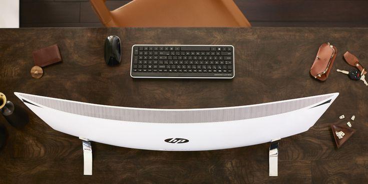 包まれてる感がスゴイ 34型曲面ディスプレイの一体型 PC「ENVY 34 Curved All-in-One」を米HPが発表 - Engadget Japanese