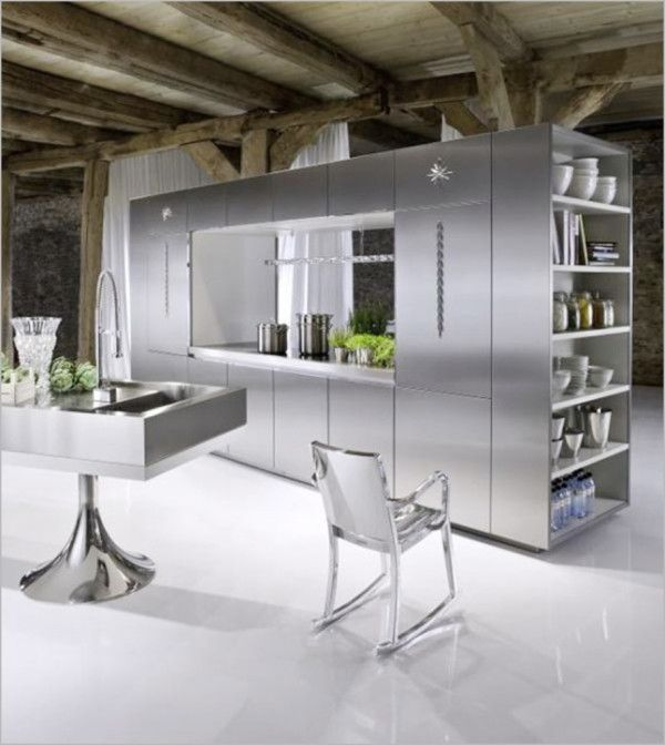 Elegant Kitchen Interior Ideas from Small Kitchen Design Ideas for Aiming Pamper Your Wife 600x672 Small Kitchen Design Ideas for Aiming Pamper Your Wife