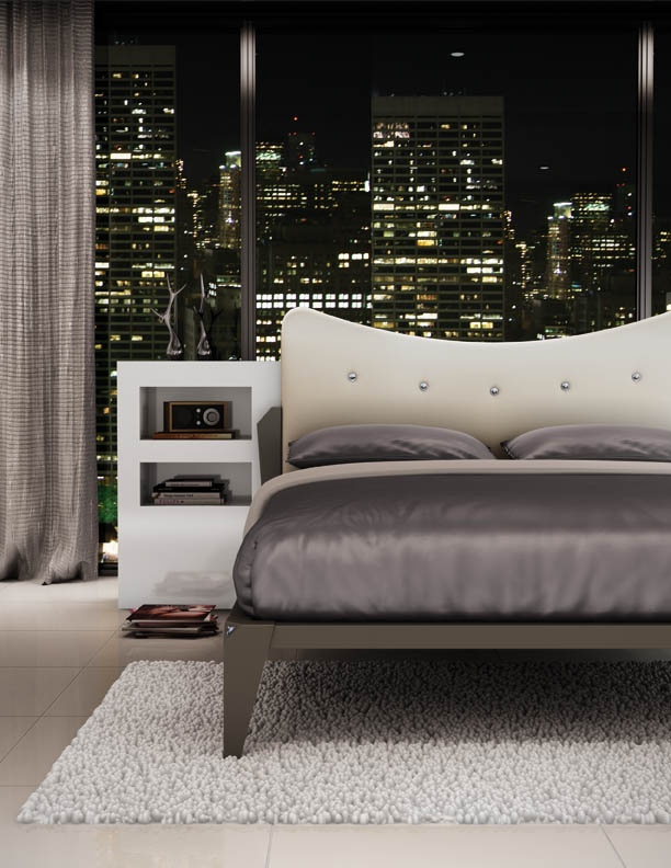 Amisco   Furniture   Platform Bed   Fifth Ave