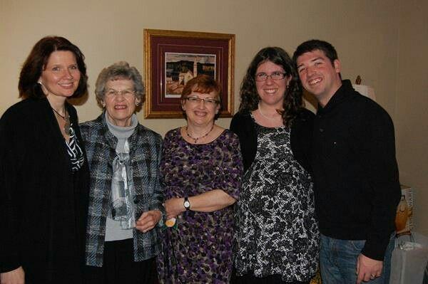 Lara (sis-i-law), Jo (mom), Me, Laura & Mike