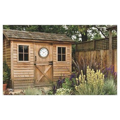 The Craftsman Clock, Brown