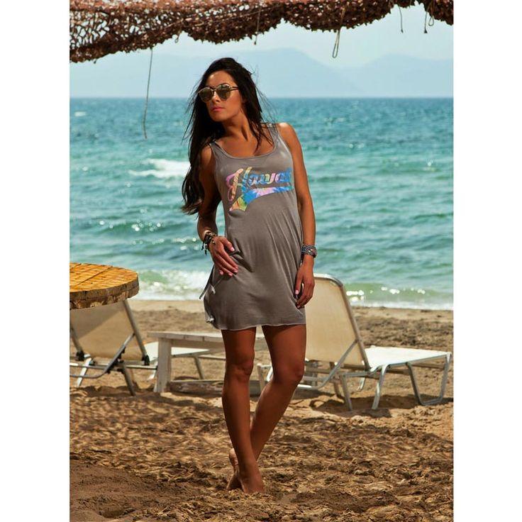 Μπλουζοφόρεμα Παραλίας