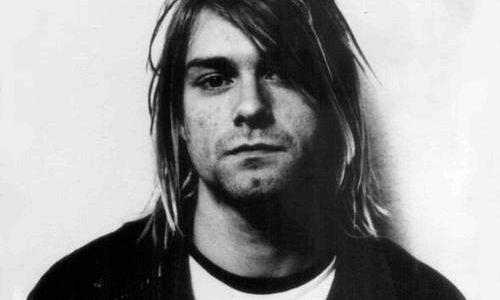 Kurt Cobain / Nirvana (GIF)
