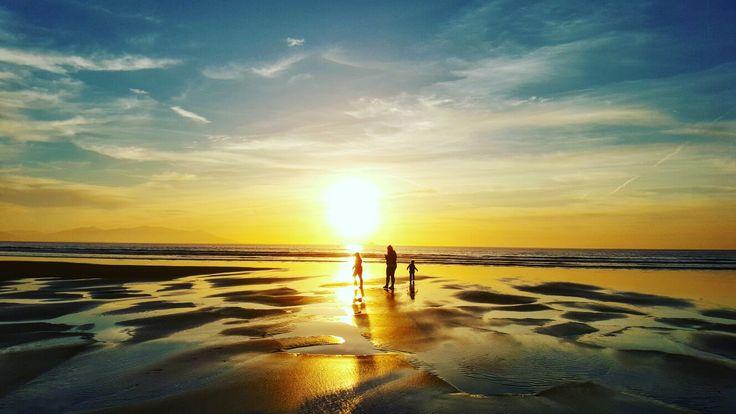 My family x Banna beach, County Kerry, Ireland x