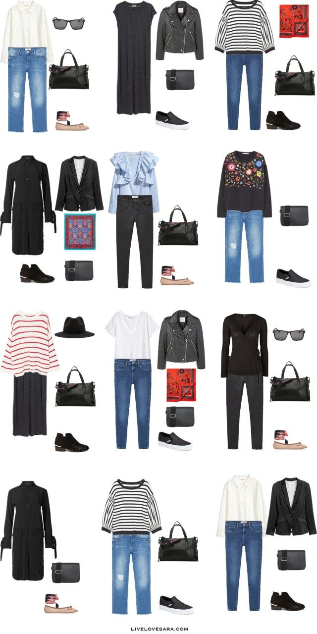 What to Wear in The French Riviera Outfit Options 1-12 Packing Light List #packinglist #packinglight #travellight #travel #livelovesara