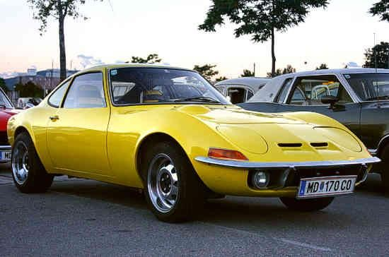 1969 Opel GT. My first German sports car. Got it just before I graduated high school. Amazing car......