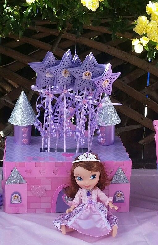 15 best diy princess sofia decorations images on pinterest sofia the first princess wands solutioingenieria Image collections