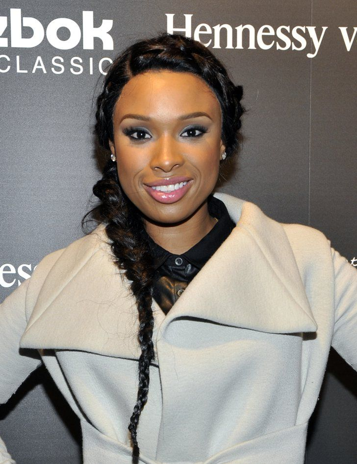 Pin for Later: 22 Lazy-Girl Braids For Summer All-Over Braids Conjoined braids, like Jennifer Hudson's here, are a popular trend that keeps the hair off your face and neck. Oh, and it looks gorgeous, too.