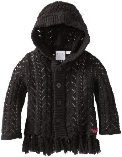 Roxy Kids Baby-Girls Infant Seashore Hooded Sweater - Listing price: $48.00 Now: $26.24